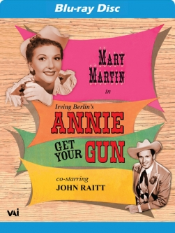 ANNIE GET YOUR GUN (Mary Martin, John Raitt) (Blu-ray)