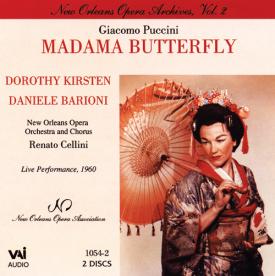 MADAMA BUTTERFLY Kirsten (New Orleans 1960) (CD)