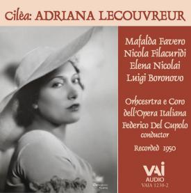 ADRIANA LECOUVREUR Favero Filacuridi Nicolai 1950 CD VAIMUSICCOM