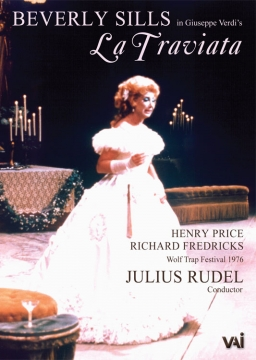 LA TRAVIATA Sills, Price, Fredricks (Wolf Trap 1976) (DVD)