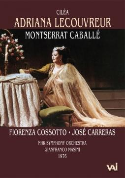 ADRIANA LECOUVREUR Caballe Cossotto Carreras NHK 1976 DVD VAIMUSICCOM