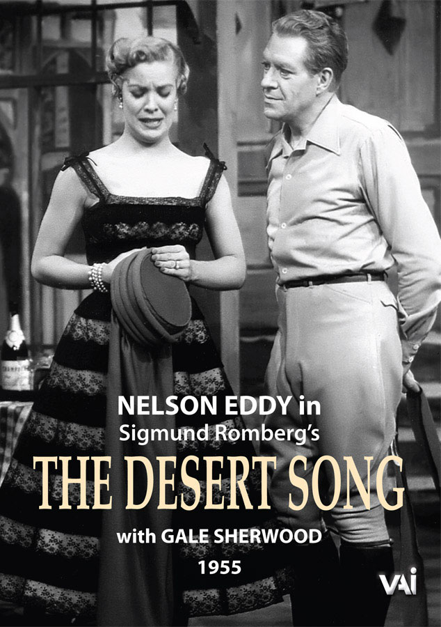 THE DESERT SONG Nelson Eddy Gale Sherwood DVD VAIMUSICCOM