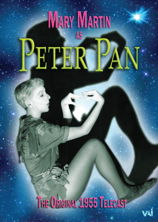 mary martin as peter pan the original 1955 telecast dvd vaimusic com