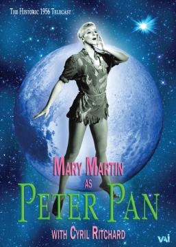 mary martin as peter pan 1956 feature telecast dvd vaimusic com
